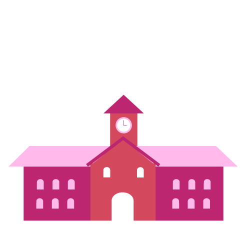 Illustration of a school
